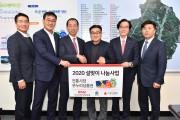 BNK금융그룹, 지속적인 이웃사랑 실천/ 전통시장 상품권 2,500만원 기탁