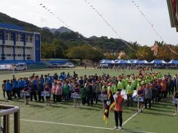 중앙동민 화합한마당 체육대회 및 노래자랑 '성료'/지난 6일 중앙동 주민 500여명 참여