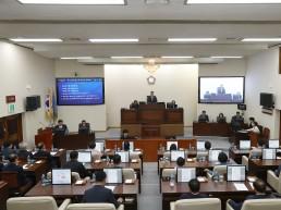 제163회 양산시의회 임시회 개회/ 9월 20일까지 4일간의 회기로 의사일정에 들어가