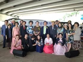 천성문인협회가 주최하는 제1회 전국 시낭송대회가 7월 4일 양산시 북부천 신기교 다리 밑 둔치에서 열렸다.