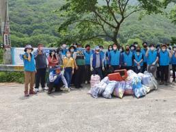 양산시, 상수원보호구역 환경정화활동 실시
