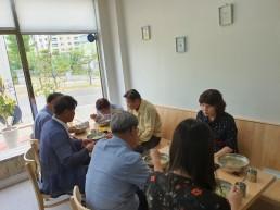 양산시, 코로나19 확진자 방문식당에서 '착한소비'