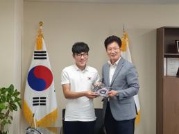 양산시장애인체육회 후원물품지원 전달식