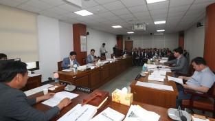 양산시의회(의장 서진부) 18일, 각 상임위원회 행정사무감사 마무리